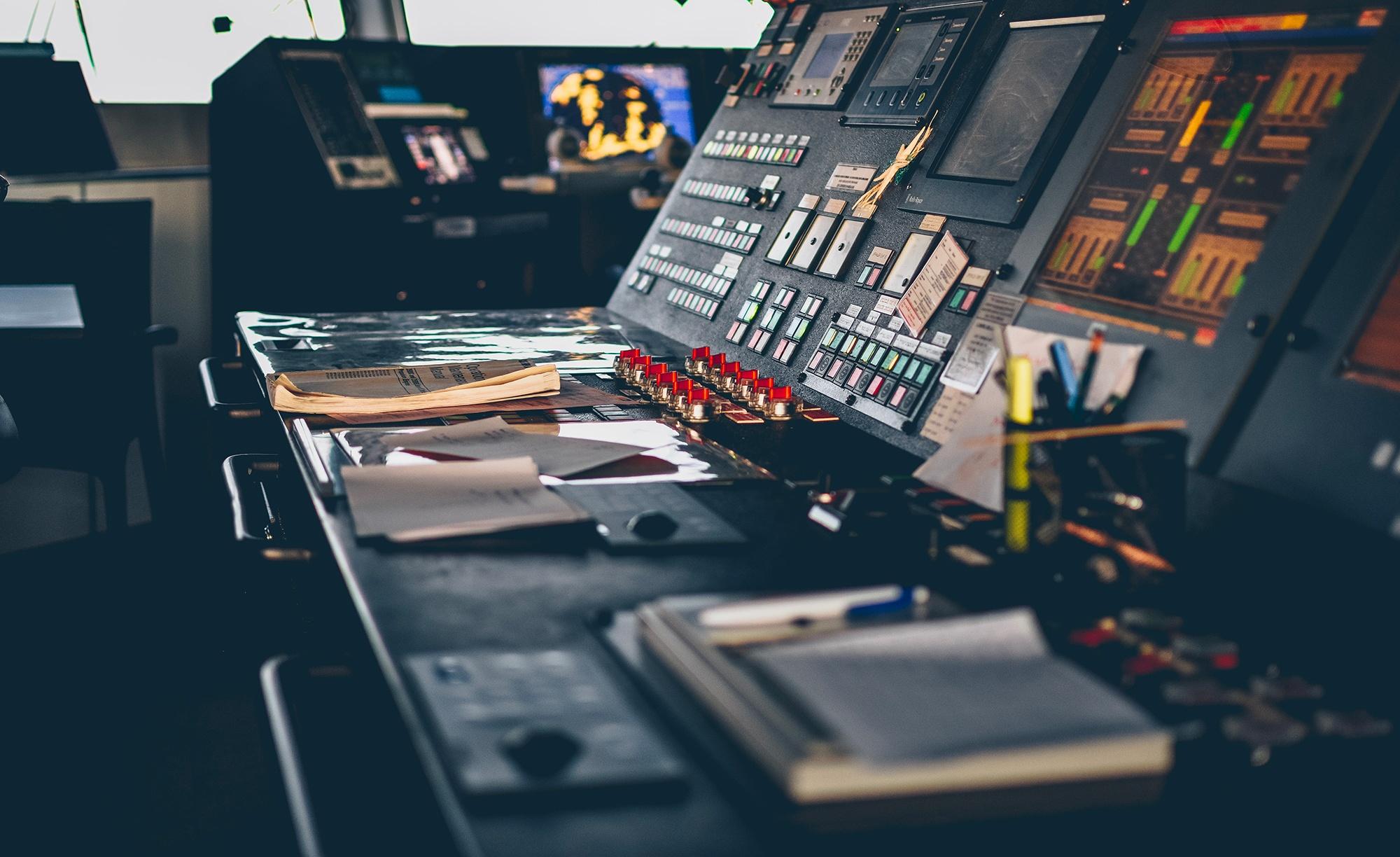 Installazione control room
